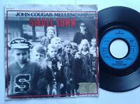 "John Cougar Mellencamp / Small Town 7"" Vinyl Single 1985 mit Schutzhülle"