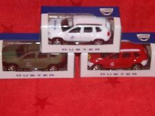 """Renault Dacia Duster 3"""" Model Cars - Army,Fire,Doctor - Norev x 3 New"""