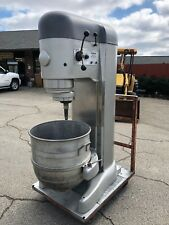 Hobart V1401 140 Qt Mixer 5Hp - Timer - 208v 3 Phase - Bowl + Hook