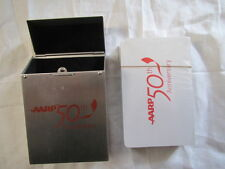 AARP 50th Anniversary Playing Cards - New, unopened deck
