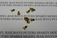 Triang Hornby SC1017 Transcontinental R155, Schools Hunt County King Body Screws