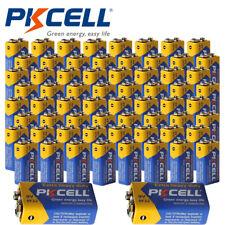 100pcs 9V 6F22 MN1604 Super Heavy Duty Carbon-Zinc Batteries PKCELL Wholesale