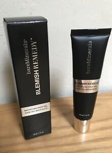 Bare Minerals Blemish Remedy Mattifying Prep Gel Foundation Primer 1fl oz Matte