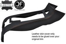 Tan Stitch arrière console centrale de rangement Trim Lthr COVER FITS BMW Z4 E85 03-09