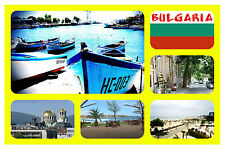 BULGARIA - SOUVENIR NOVELTY FRIDGE MAGNET - BRAND NEW - GIFT - SIGHTS  & PLACES
