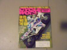 SEPTEMBER 1992 CYCLE WORLD MAGAZINE,MIKE THE BIKE,SUZUKI GSX-R750,BMW K1100LT,