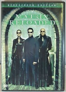 The Matrix Reloaded (DVD, 2003, 2-Disc Set, Widescreen) Pre-Owned