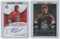 2008-2009 SP Authentic Future Watch & Black Diamond Quad Zach Boychuk Rookie RC