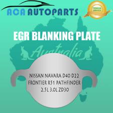 EGR Blanking Plate For Nissan Navara D40 D22 Frontier R51 Pathfinder 2.5L Diesel