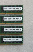 16GB 4 x 4GB 371-2205-01 RAM SUN FIRE X4200 M2 667-MHz ECC Server Memory Oracle