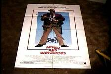 ARMED AND DANGEROUS ORIG MOVIE POSTER 1986 JOHN CANDY