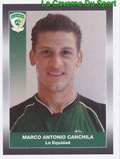 120 MARCO CANCHILA CD.LA EQUIDAD STICKER PANINI COLOMBIA PRIMERA A 2008