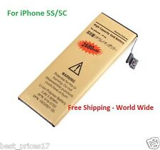 3.8V 2680mAh Internal Replacement Li-ion Polymer Gold Battery for iPhone 5S/5C