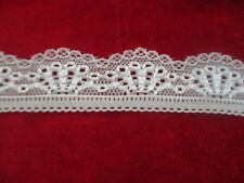 new 5 yards beautiful white lace stretch lace yarn pressure width 3 cm