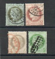 France - Sc# 50 - 53 Used  /  Lot 1219080