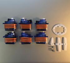6 x 9g SG Servo Motor 90 Decigrams, Ø5mm Tower, Light Pro & Hobby FSEN ■