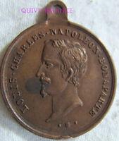 MED9701 - MEDAILLE JETON LOUIS CHARLES NAPOLEON BONAPARTE ELU ASSEMBLEE 1848