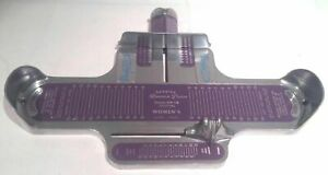 Shop Measuring Vintage Womens Purple BRANNOCK DEVICE FOOT Shoe American Girl