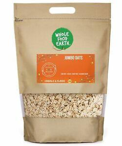 Jumbo Oats    GMO Free   Vegan   Dairy Free   No Added Sugar