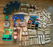 Thomas The Train Wooden Tracks Extra Parts Pieces Wood Engines Bridges Trevor