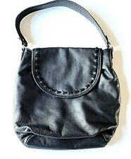 Margot Athropologie Genuine Leather Hobo Bag Shoulder Purse Black