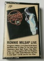 Ronnie Millsap Live Cassette 1987 RCA Ariola International Tape