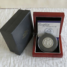 2010 WILLIAM AND KATE ROYAL ENGAGEMENT TDC £5 PIEDFORT SILVER PROOF - complete