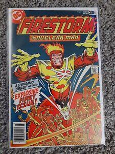 Firestorm the Nuclear Man #1 VF- DC Origin & 1st Appearance DC Comics 1978 Key
