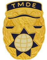 US ARMY TMDE Group Unit Crest DUI    (New)