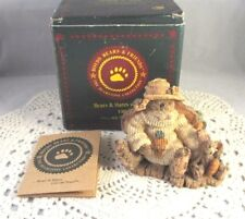 Charlotte & Bebe The Gardeners Figurine Boyds Bears & Friends #2229 Box & COA