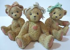 Sisters Cherished Teddies Jacki Sara Karen 950432 Lova Ya Best Buddy Hugs Kisses