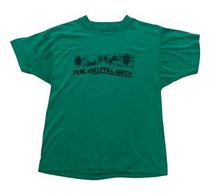 Philadelphia Green Pennsylvania Horticultural Society Vintage 80s USA T-Shirt