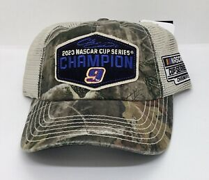 """2020 #9 Chase Elliott  """" Championship Hat """" True Timber - One Size Fits All"""