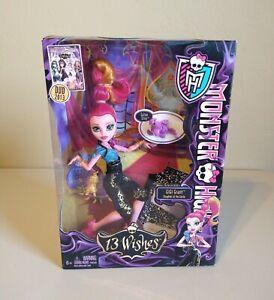 Monster High 13 Wishes Gigi Grant Genie Doll New NRFB