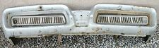 X MERCURY PARK LANE NEW TRIPLE PLATED CHROME FRONT BUMPER 1958 58 OEM