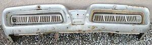 X MERCURY PARK LANE NEW TRIPLE PLATED CHROME FRONT BUMPER 1958 58 OEM