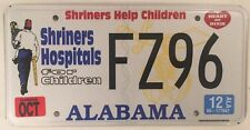 Freemason SHRINERS HELP CHILDREN license plate Freemasonry Secret Master Masonic
