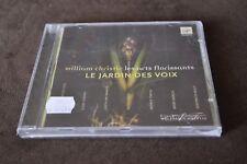 William Christie - Le Jardin des Voix (CD, Mar-2006, Virgin)