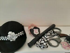 Police officer dress up accessory set