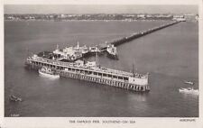 SOUTHEND-ON-SEA (Essex) :The Famous Pier,Southend-on-Sea -aerial view RP
