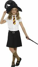 Wizard Fancy Dress Set Hat Tie & Wand Book Day Harry Kit by Smiffys