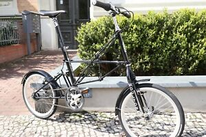 Alex Moulton APB Nexus 8 Klapprad / Faltrad schwarz