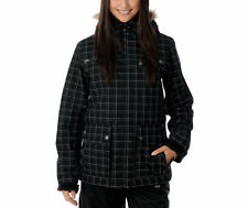 Empyre Leila Jacket Womens Snowboard Ski 10k Waterproof Insulated Black M