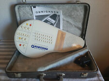 Suzuki Omnichord Om-27 Electronic Autoharp Synth + Ac Adapter + Case *Tested*