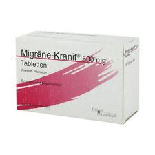 MIGRÄNE KRANIT 500 mg Tabletten 100St PZN 03438056