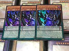YUGIOH CARD: PLAYSET 3 X D/D/D Chaos King Apocalypse SDPD-EN001 - Ultra Rare