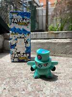 Kidrobot Fatcap Series 3 Devious Bird Graffiti Art Toy Figure Rare