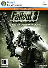 Fallout 3 Game Add-On Pack - The Pitt and Operation Anchorage PC DVD