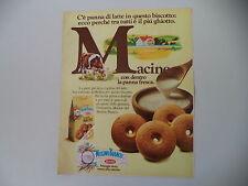 advertising Pubblicità 1982 MACINE MULINO BIANCO