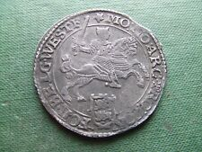 NETHERLANDS.  1672, SILVER RIDER.  (CROWN SIZE)  SCARCE.  NICE CONDITION.